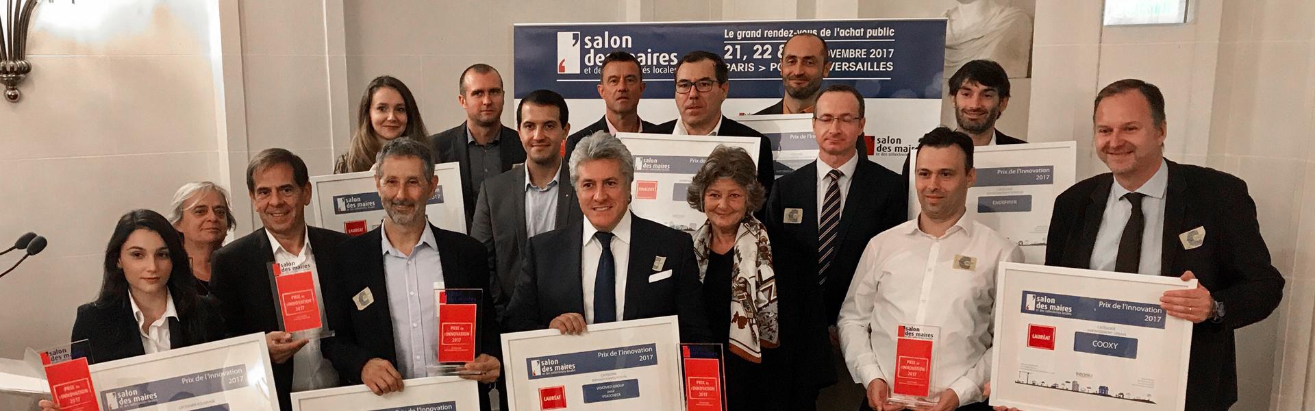 Visiocheck prix de l innovation du salon des maires for Salon maires
